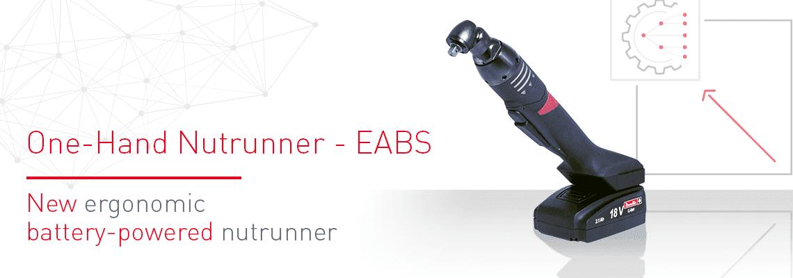 新型优秀人机工程学电池式扳手:EABS