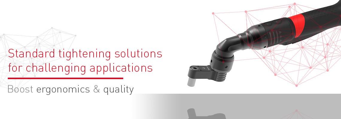 当弯头工具不完全适用时,Desoutter 偏移头附件将带给你一个完整的解决方案!