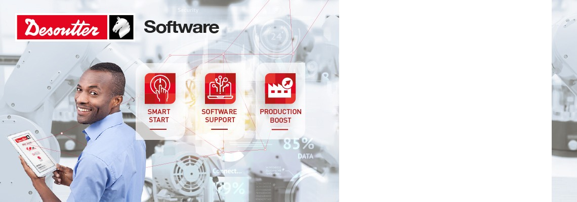 获得正确的支持可以让您从功能强大的DESOUTTER软件中获得最大的收益
