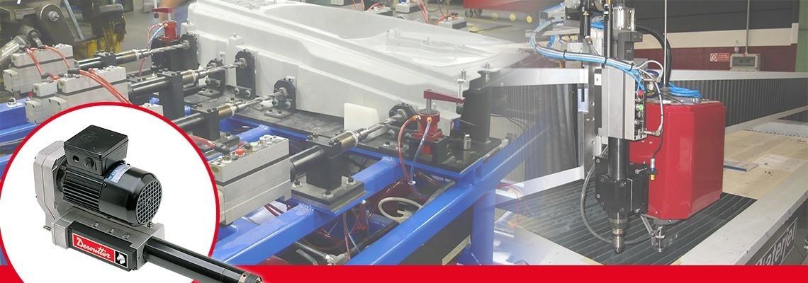 马头动力工具设计简易或完整的控制模块和电气接口,以改善您的自动进给钻。获取报价!