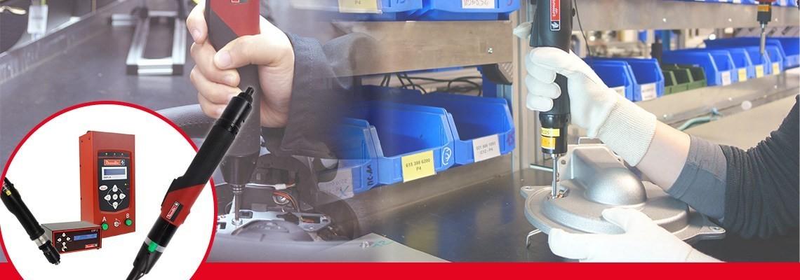 了解马头动力工具SLBN与SLC系列工具。 两种高效生产型电动螺丝刀