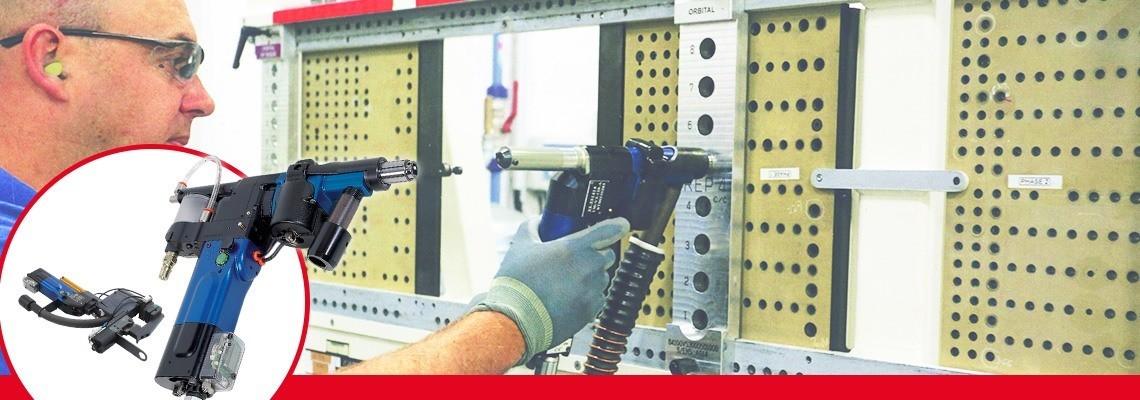 Seti-Tec气动高级制孔装置专用于航空装配设备半自动化钻孔作业。
