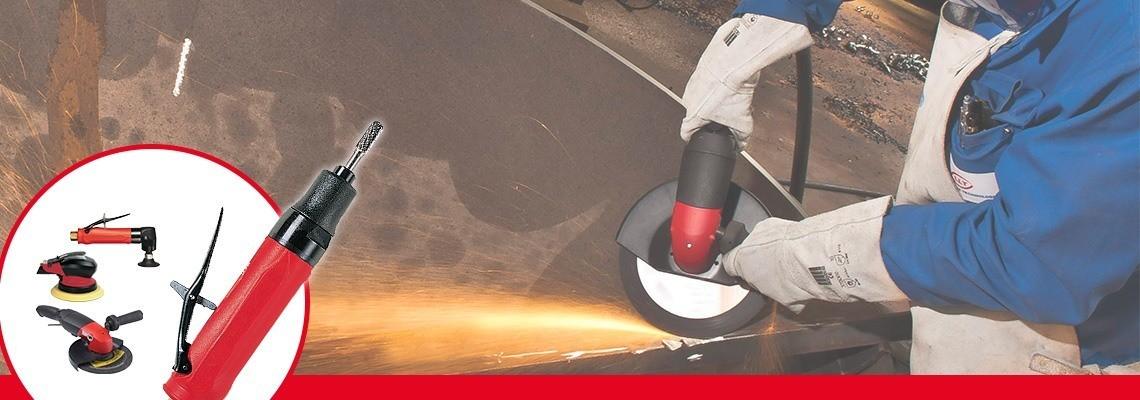 为了满足专业人士的期望,我们创建了全系列气砂轮与磨光机。舒适高效,安全。获取报价!