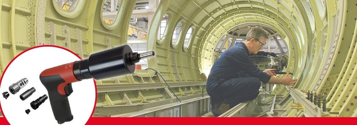 马头动力工具手持式与支架安装型气动攻丝机,扳机启动或按钮换向。获取报价和演示!