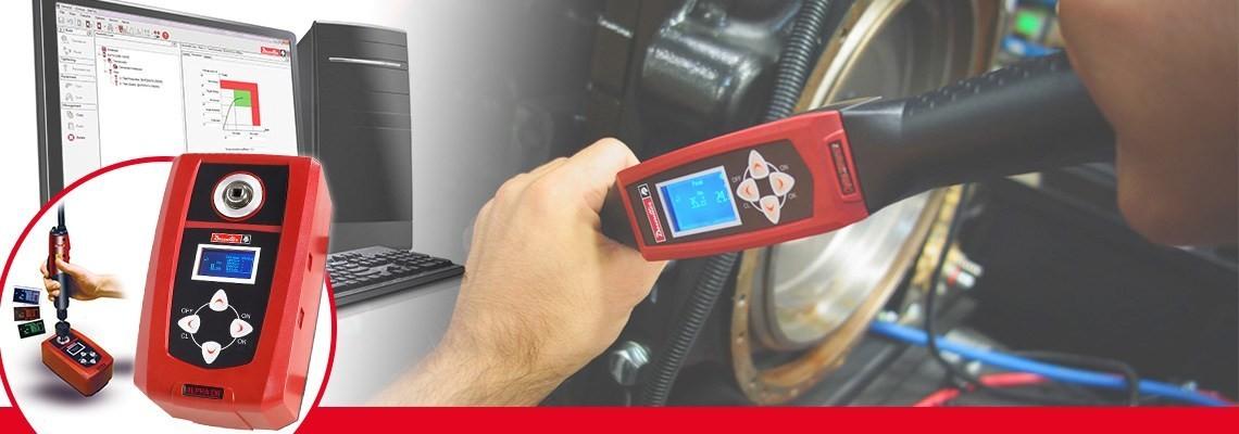 马头动力工具数字扭矩测量仪用于监控和采集螺丝刀,扭矩扳手或扭力扳手的扭矩测量结果