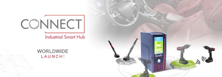 我们很荣幸地推出名为 CONNECT 的智能拧紧中枢:Desoutter 4.0 解决方案!